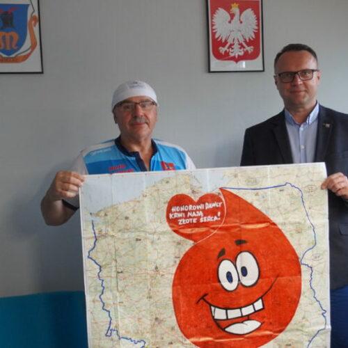 Rajd po krew – Janusz Kobyłka odwiedził Mielec