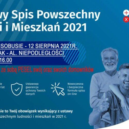 Narodowy spis Powszechny – Spisobus w Mielcu 12.08.2021