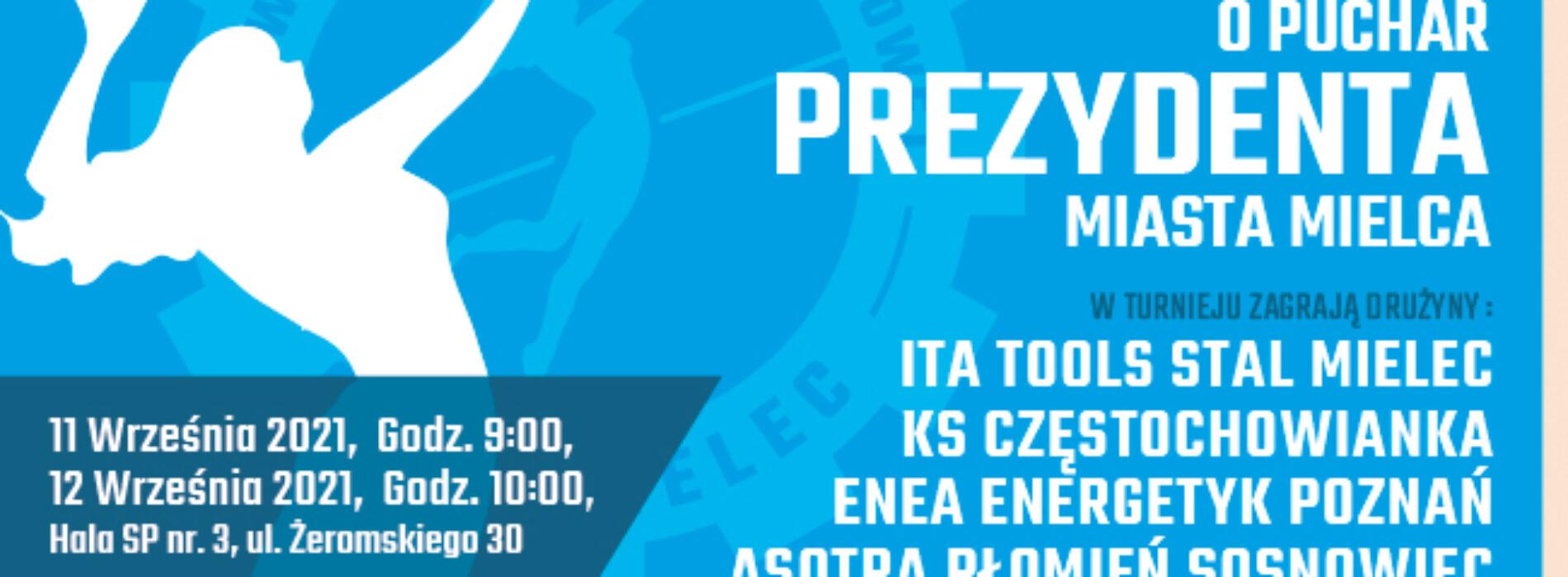 Siatkarskie emocje przed nami! – Turniej o Puchar Prezydenta Miasta Mielca